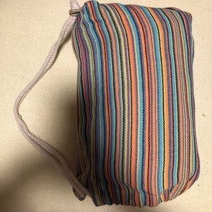 Anthropologie Other - Anthropologie striped hammock with fringe and bag